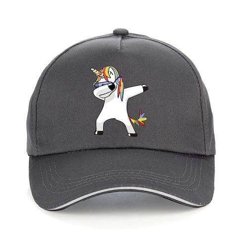 cap unicorn dab cotton women man blue marine accessories of fashion unicorn