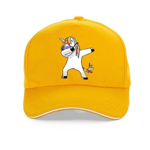 cap unicorn dab cotton women man blue marine price