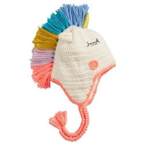 cap unicorn knitting child baby multicolored more of 5 years head 52 54cm price