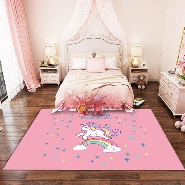 carpet awakening unicorn pink 200x300cm at sell