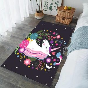 carpet unicorn bedroom girl 152x244cm unicorn stuffed animals