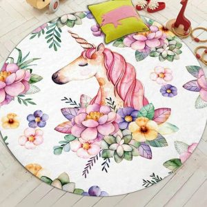 carpet unicorn kawaii 150cm of diameter buy