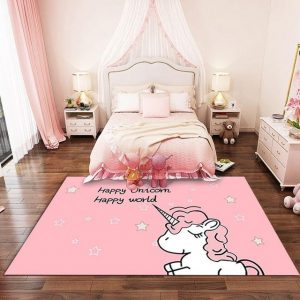 carpet unicorn not expensive 200x300cm not dear