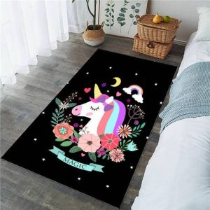 carpet unicorn rectangular 152x244cm room