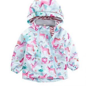 coat child baby unicorn kawaii 7 years 120 130cm at sell