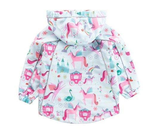 coat child baby unicorn kawaii 7 years 120 130cm price