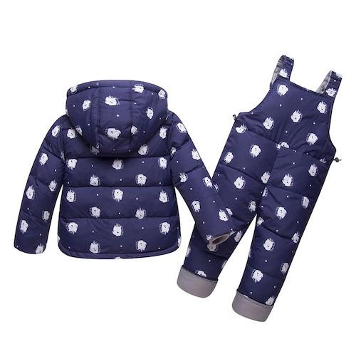 coat combination winter child unicorn blue four years and 95 105cm clothing unicorn