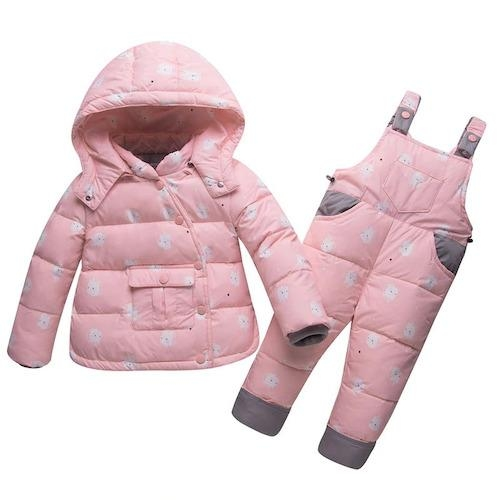 coat combination winter child unicorn blue four years and 95 105cm not dear
