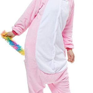 combination kigurumi unicorn pink xl 178 188cm