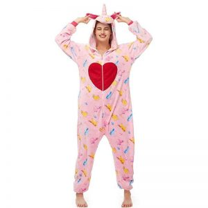 combination pyjamas unicorn heart xl 180 190cm not dear