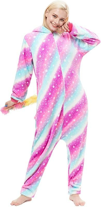 combination pyjamas unicorn multicolored xl 178 188cm buy