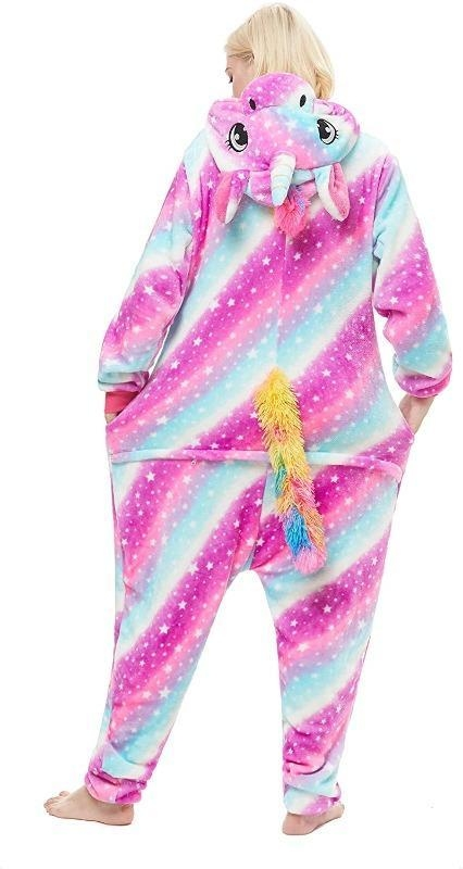 combination pyjamas unicorn multicolored xl 178 188cm disguise unicorn