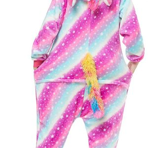 combination pyjamas unicorn multicolored xl 178 188cm unicorn stuffed animals