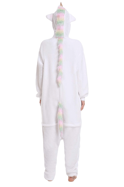 combination pyjamas unicorn white xl 180 190cm at sell