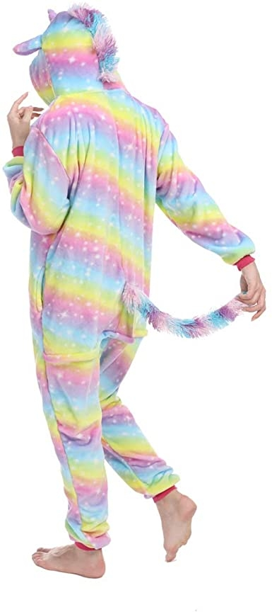 combination unicorn adult multicolored xl 178 188cm disguise unicorn