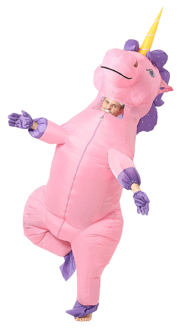 costume inflatable unicorn adult at sell