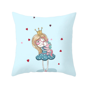 cover of cushion princess unicorn