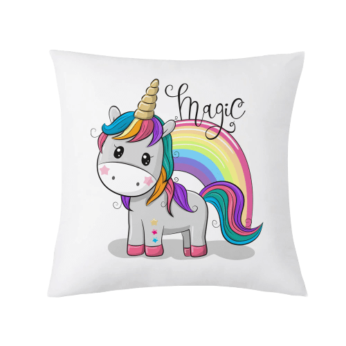 cover of cushion unicorn bow in sky objects unicorn at price minis