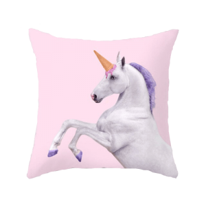cover of cushion unicorn fun price
