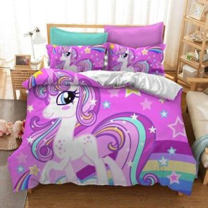 cover of quilt bedroom unicorn 220x260cm unicorn stuffed animals