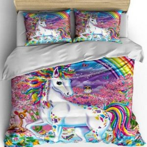 cover of quilt kingdom unicorn 220x240cm room