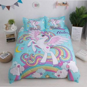 cover of quilt unicorn barbie 230x260cm