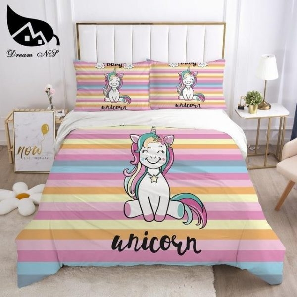 cover of quilt unicorn bed double 260x220cm buy