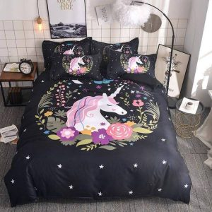cover of quilt unicorn decoration 230x260cm buy