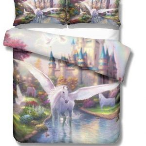 cover of quilt unicorn flying 220x260cm price