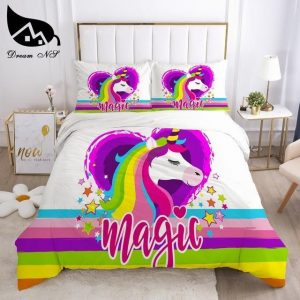 cover of quilt unicorn heart had sking 260x220cm not dear