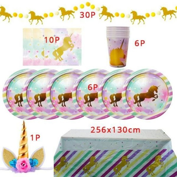 decoration anniversary theme unicorn buy
