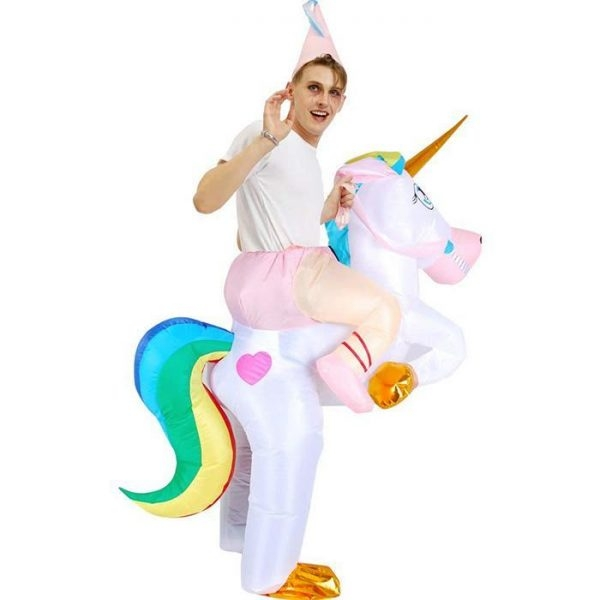 disguise inflatable unicorn party child 80 130cm buy