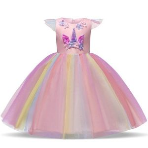 disguise unicorn dress multicolored child 155 cm not dear
