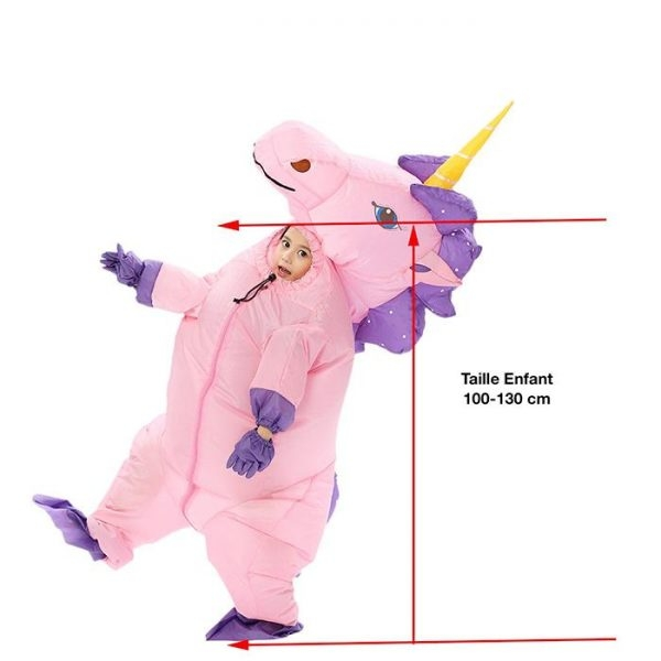 disguise unicorn inflatable integral teenager 135 160cm not dear