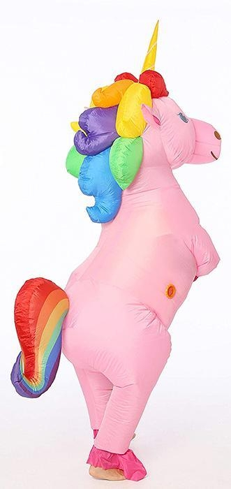 disguise unicorn inflatable multicolored at sell