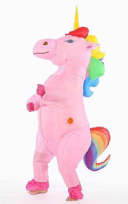 disguise unicorn inflatable multicolored price