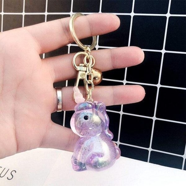 door key in form of unicorn white at sell