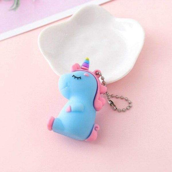 door key unicorn girl white door key unicorn