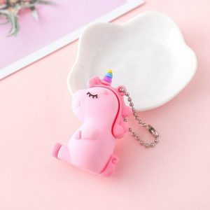 door key unicorn girl white price