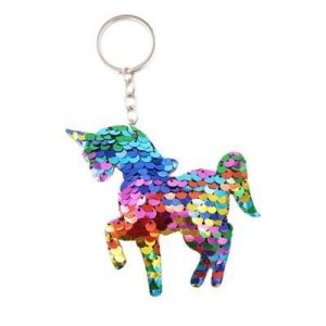 door key unicorn glitter pink buy