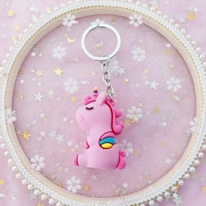 door key unicorn kawaii rose