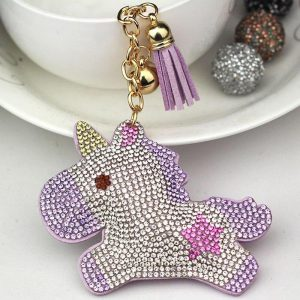 door key unicorn multicolored pink price
