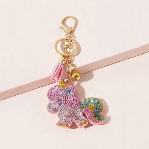 door key unicorn not expensive pink price