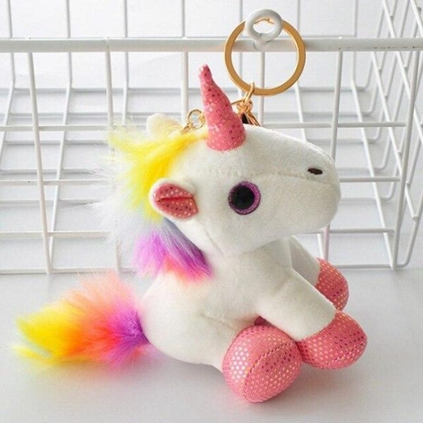 door key unicorn plush yellow at sell