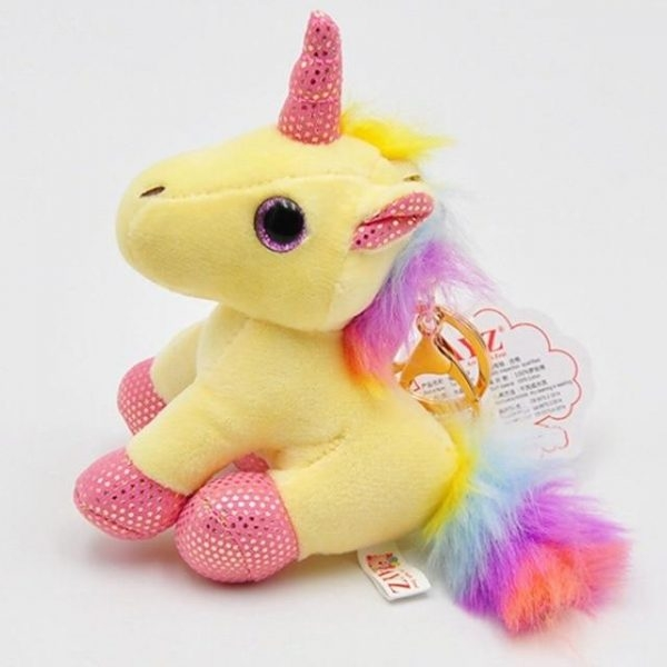 door key unicorn plush yellow buy