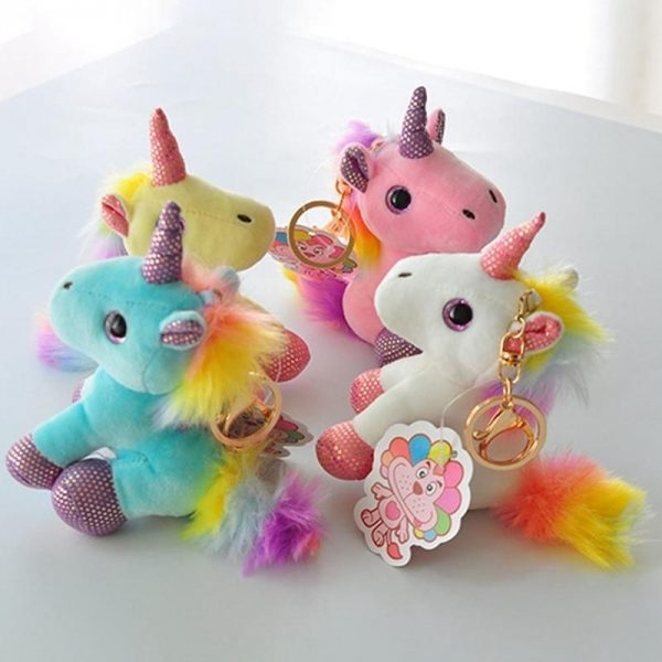 door key unicorn plush yellow door key unicorn