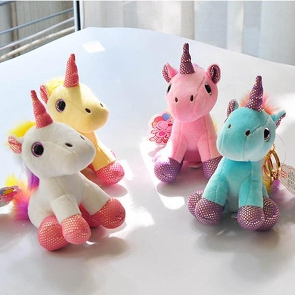 door key unicorn plush yellow not dear