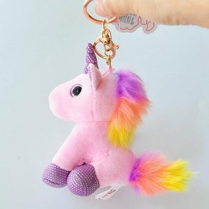 door key unicorn plush yellow unicorn stuffed animals