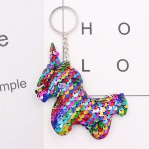 door key unicorn sequin 4