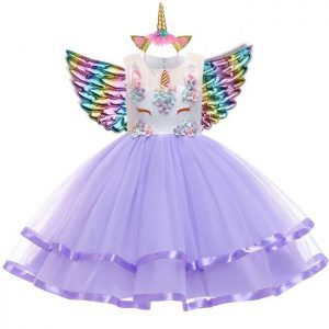 dress disguise unicorn child 13 14 years old 155 cm price